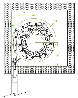 good photo en plan du volet roulant lames orientables en noir et blanc vue en plan with. Black Bedroom Furniture Sets. Home Design Ideas